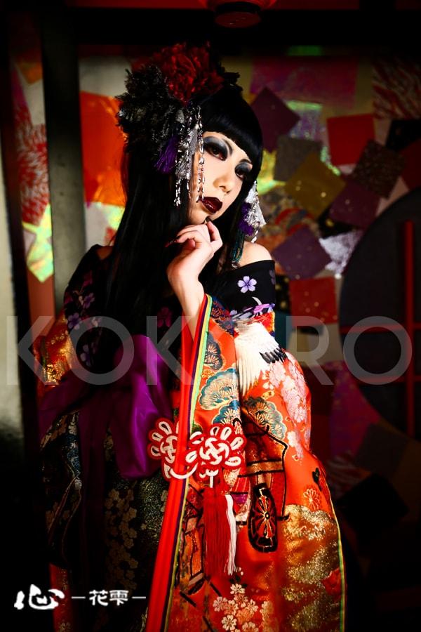京都 花魁 体験 着物 写真 カメラ 撮影