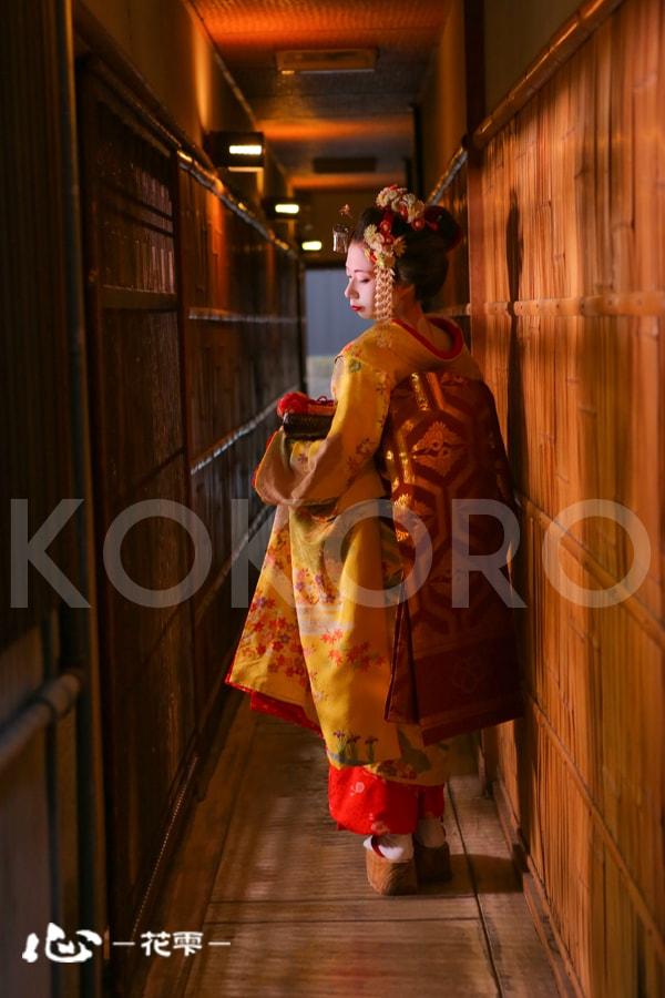 京都 舞妓体験 祇園 東山 着物 メイク