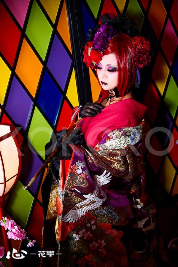 京都 花魁体験 着物 メイク ヘアメイク 写真 カメラ 撮影