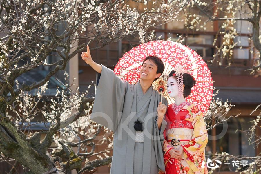 祇園白川で舞妓体験