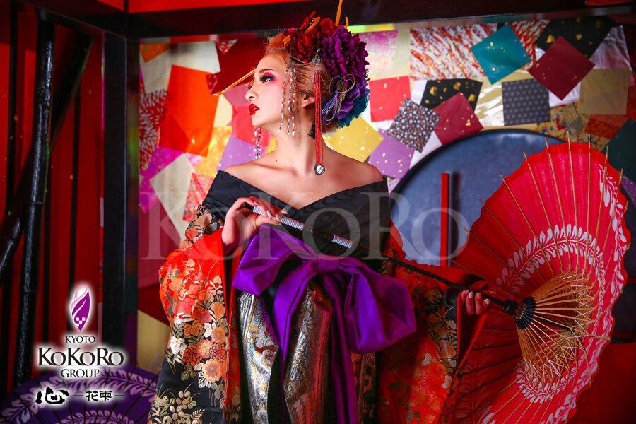 京都で雅に花魁体験