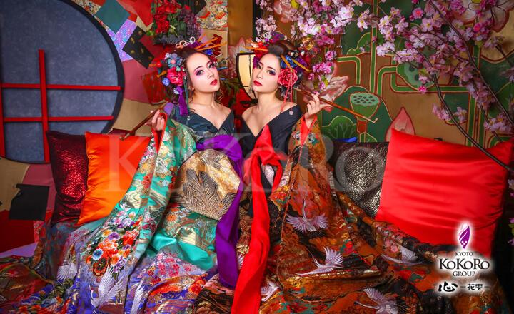 京都心花雫の花魁体験