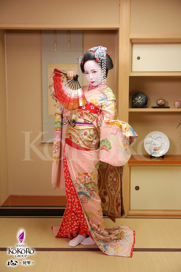 京都心で舞妓体験