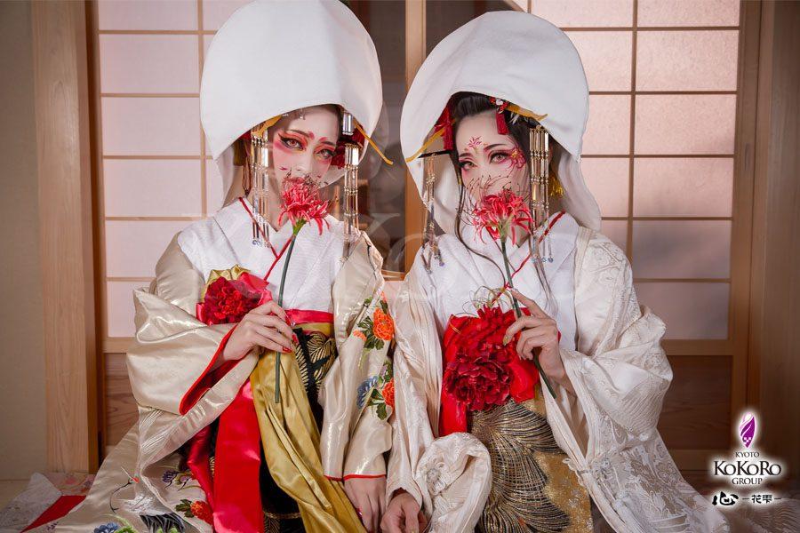 京都心ー花雫ーで変身体験