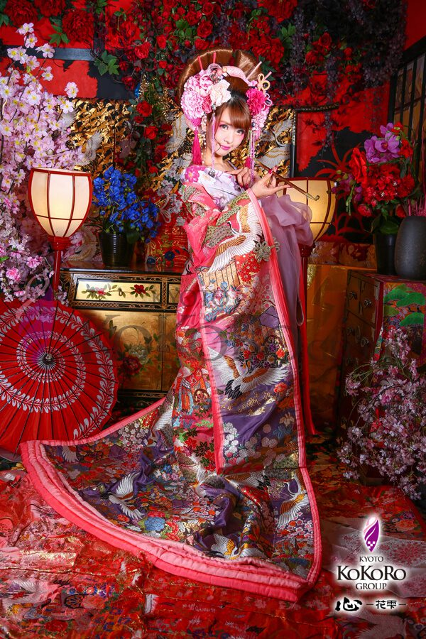 祇園の花魁体験