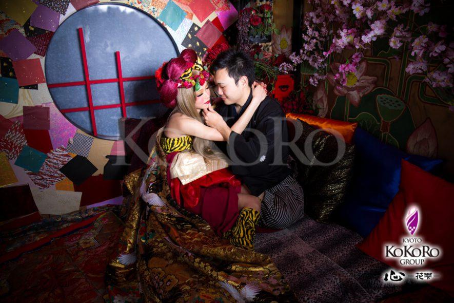 結婚記念日に特別ね体験を夫婦で花魁体験
