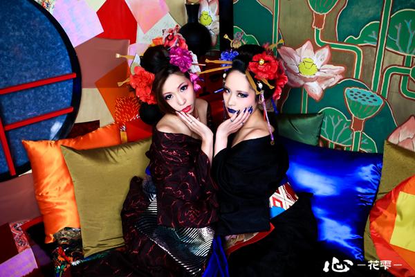 祇園で美しく花魁に変身体験