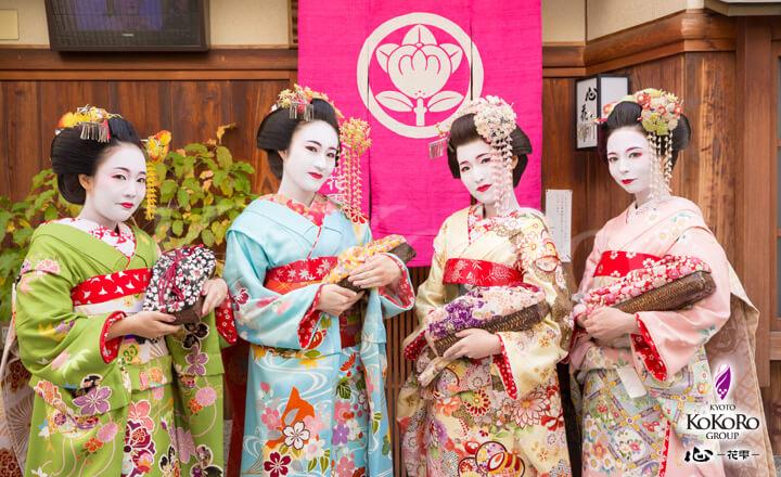 京都花街宮川町でフォトジェニックな舞妓体験