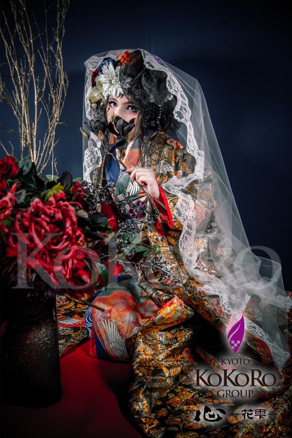 花魁体験_しずく色の花嫁