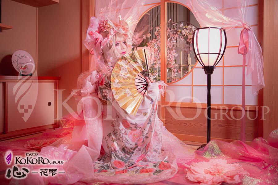 桜の君 花魁体験