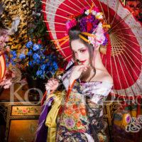 京都で花魁体験
